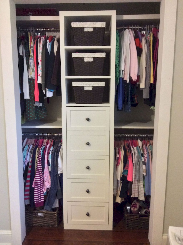 Simple Hack Small Closet Organization Tricks Closet Small