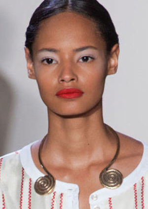Loving this Altuzarra and Phillip Crangi jewelry collaboration // unique necklace
