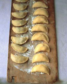 Mushroom Pierogi Recipe Recipe Stuffed Mushrooms Pierogi Recipe Pierogies