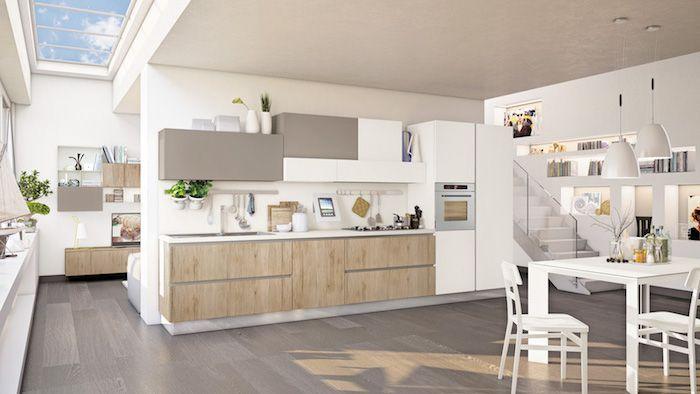Astuces Comment Aménager Une Cuisine En Longueur - Amenagement cuisine rectangulaire