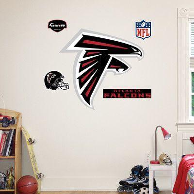 Fathead NFL Wall Decal NFL Team: Atlanta Falcons