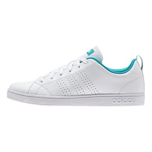 Zapatillas adidas neo Advantage Clean VS blanco verde mujer ...