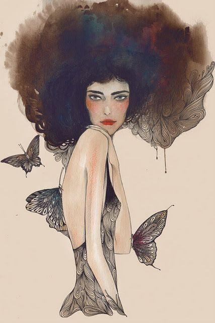 amazing fashion illustrator