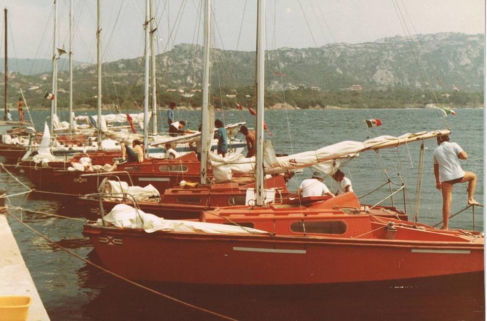 Mousquetaires al pontile. 1980