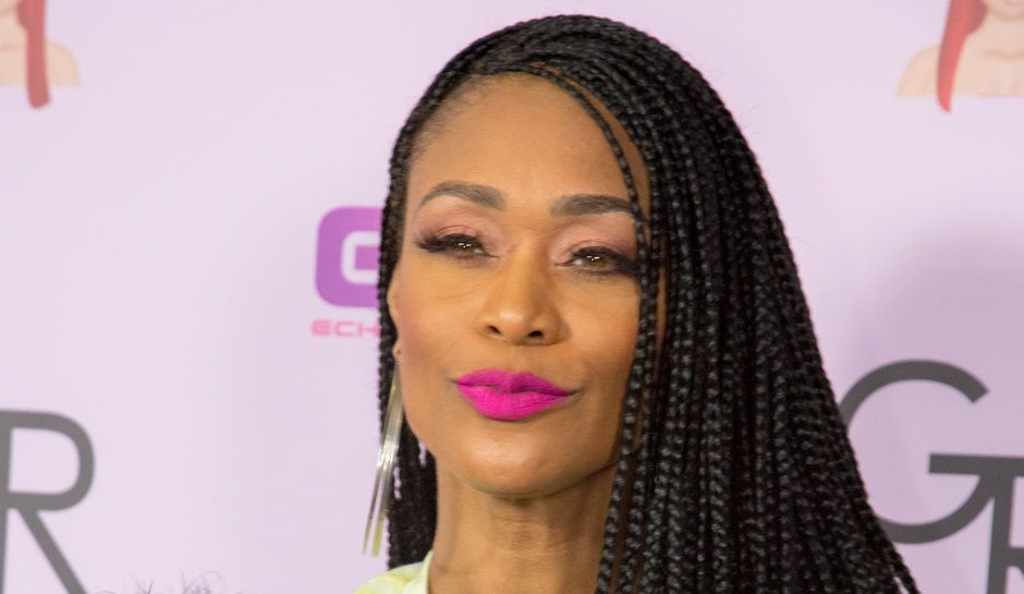 Basketball Wives La Tami Roman Still Feuding With Dj Duffey Basketball Wives La Braided Hairstyles Basketball Wives