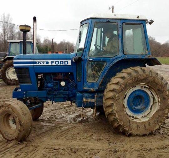 Ford 7700 Old Tractors Ford Tractors Tractors