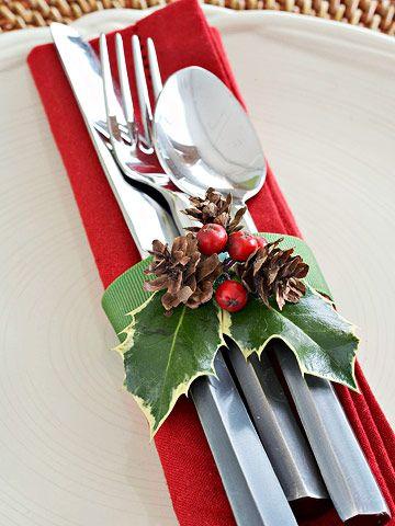 53 Easy Handmade Christmas Ornaments To Start Making Now Christmas Table Decorations Christmas Table Settings Christmas Table