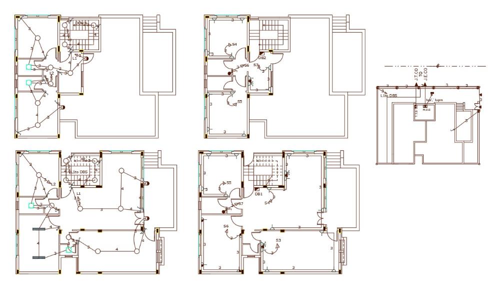 [DIAGRAM_5LK]  3 Bedroom House Electrical Plan Design DWG file in 2020 | Plan design, Electrical  layout, Family house plans | Villa Electrical Plan |  | Pinterest