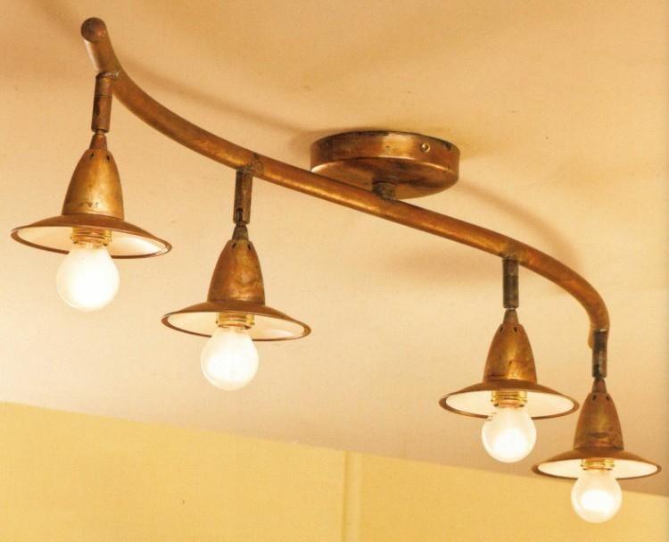 Plafoniera Flos Smithfield : Plafoniera rustica ruggine cerca con google lampada salotto