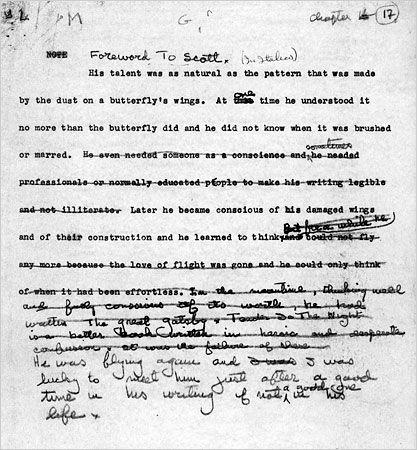 Hemingway Editing F Scott Www Artexperiencenyc Com Words Book