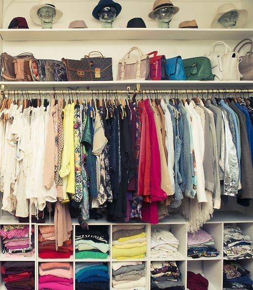 How To Organize Your Tiny Closet Like An Expert