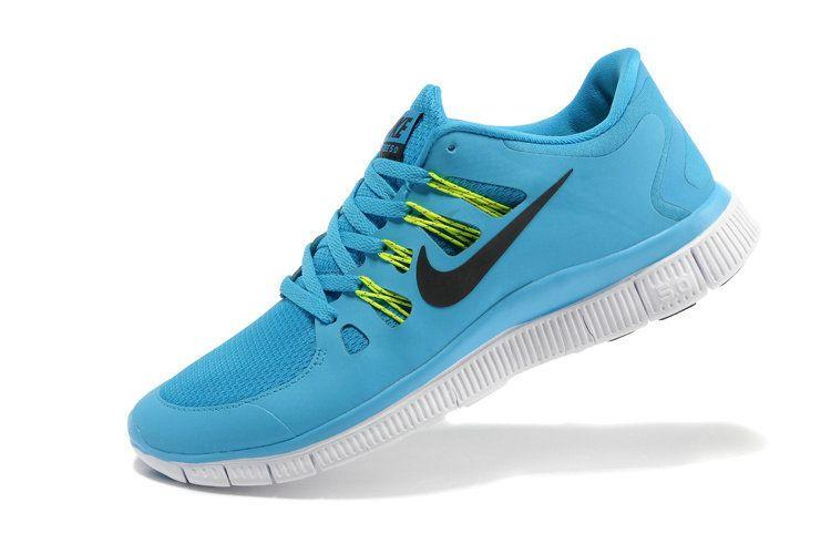 super popular ecdbe c7bba Nike Free 5.0 Breathe GS Electric Teal Sonic Yellow Black White
