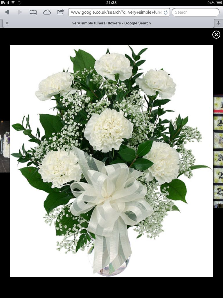 Simple any pinterest funeral flowers simple izmirmasajfo