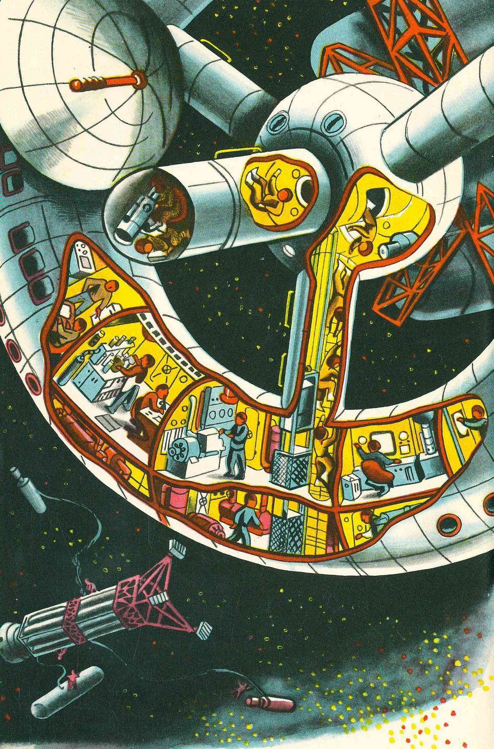 To The Other Planets   Retro futurism, Science fiction art ...