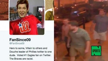 Philly Sports Twitter Account '@FanSince09′ Used Social Media Skills To Solve Hate Crime Before Police Could