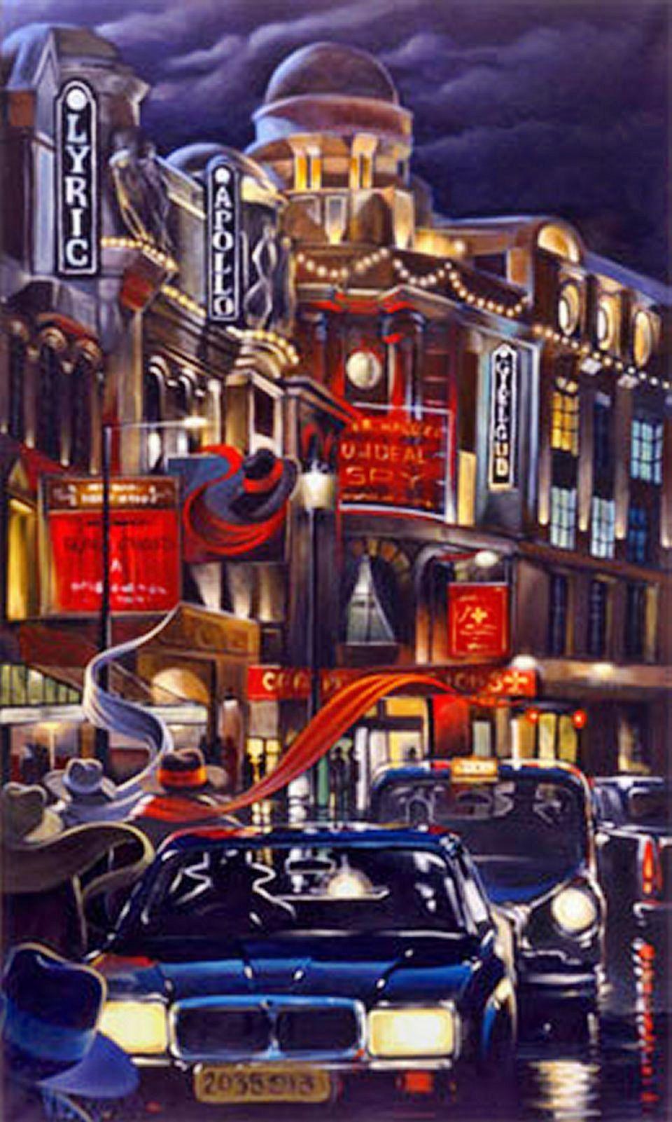 Victor Ostrovsky Ostrosvky In 2019 Cityscape Art