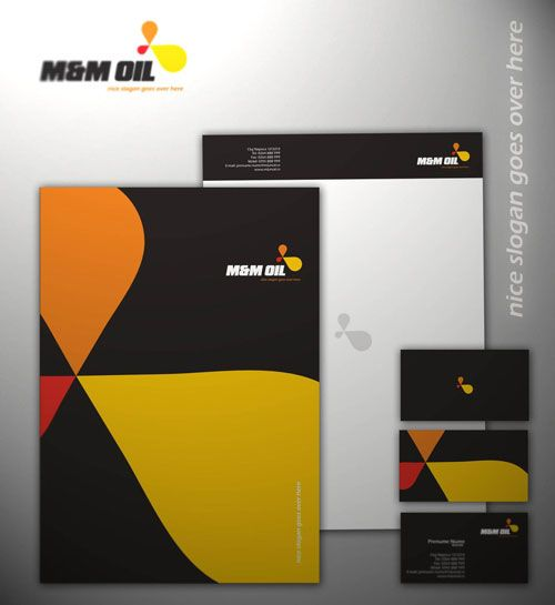 MM OIL CORPORATE - Letterhead And Logo Design Inspiration City - corporate letterhead