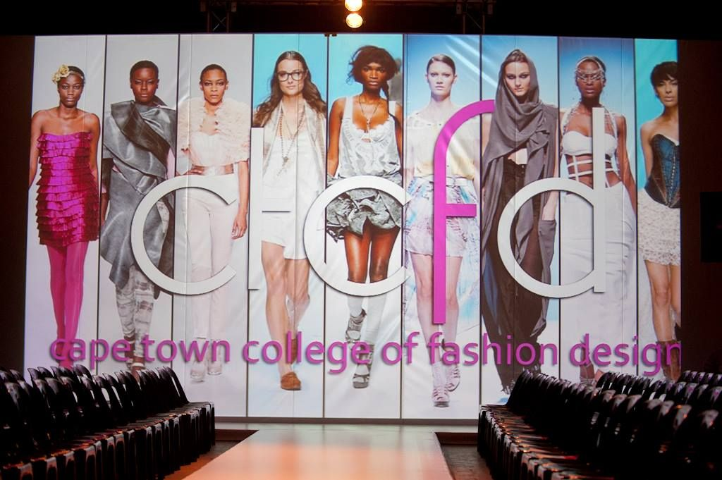 Gearing Up For The Cape Town College Of Fashion Design Annual Showcase Event Stage Stage Design Fashion Design