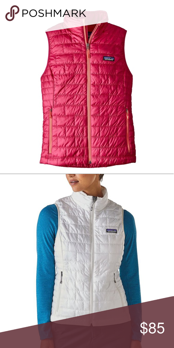 Women's Patagonia Nano Puff Vest Color is craft pink. NWT