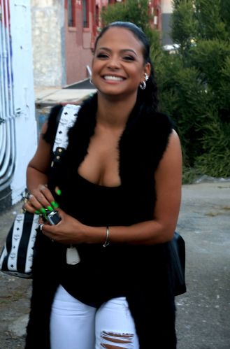 BRIGHT SMILE: Christina Milian spotted out and about in West Hollywood. (WENN) - See more at: http://cocoafab.com/black-celebrity-photos/?slide=4#sthash.kfOkTVPo.dpuf