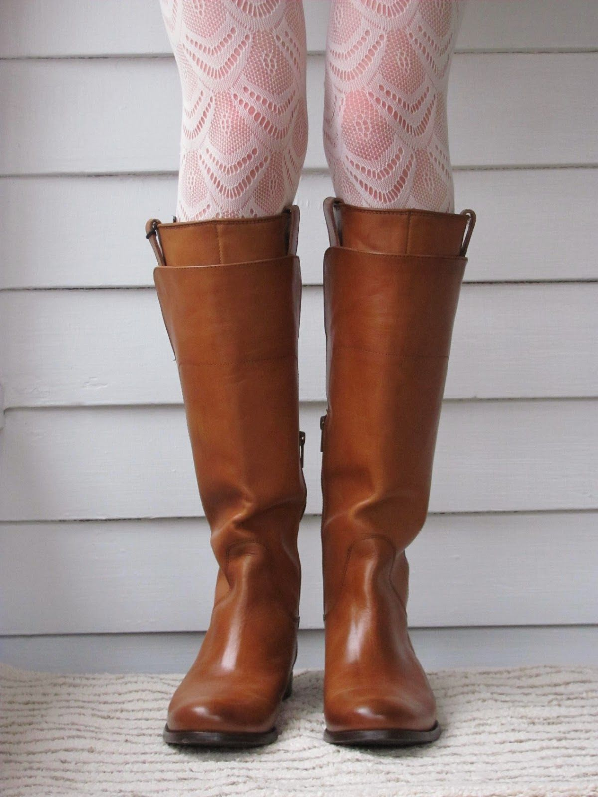 Howdy Slim! Riding Boots for Thin Calves: Frye Melissa Tall Riding ...