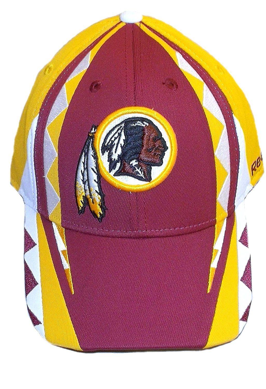 948475a93ba Washington Redskins Structured Flex Reebok HAT Size S M