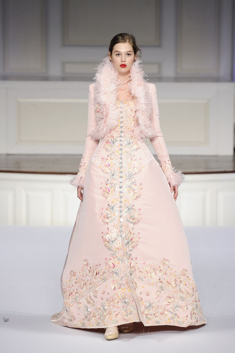 ice pink winter ball gown ensemble | Not Your Everyday Fashion ...