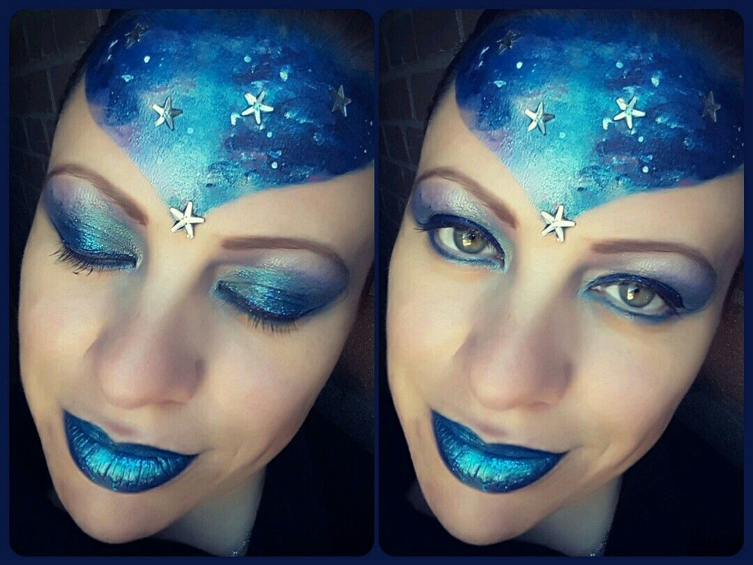 Dreaming of the stars facepaint
