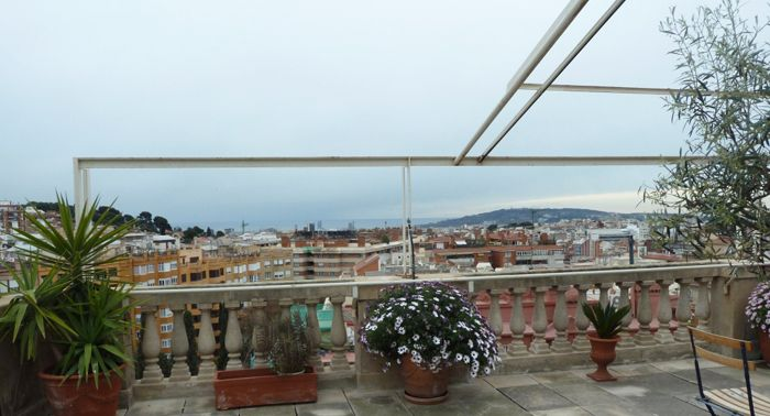 Atico De Lujo En Passeig Sant Gervasi Barcelona Deco Terrazas Vistas Terrazas