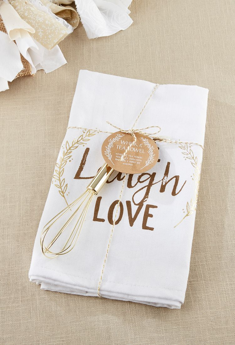 Live Laugh Love Whisk And Tea Towel This Features