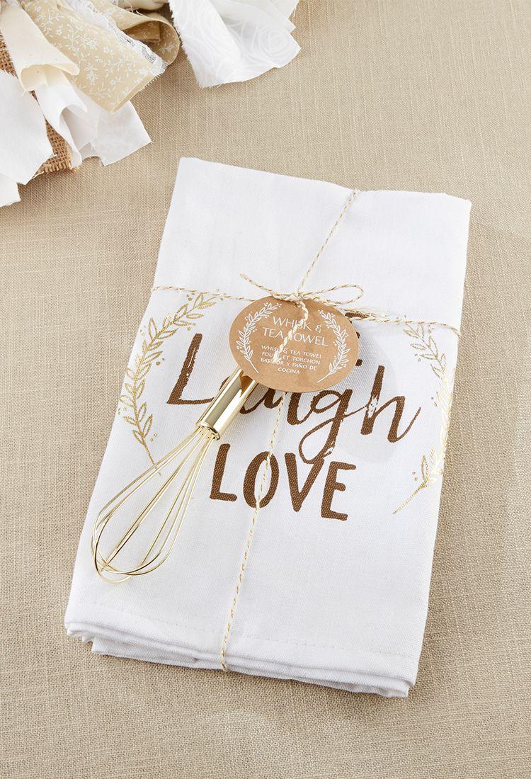 Live Laugh Love Whisk And Tea Towel Pinterest Towels Favors