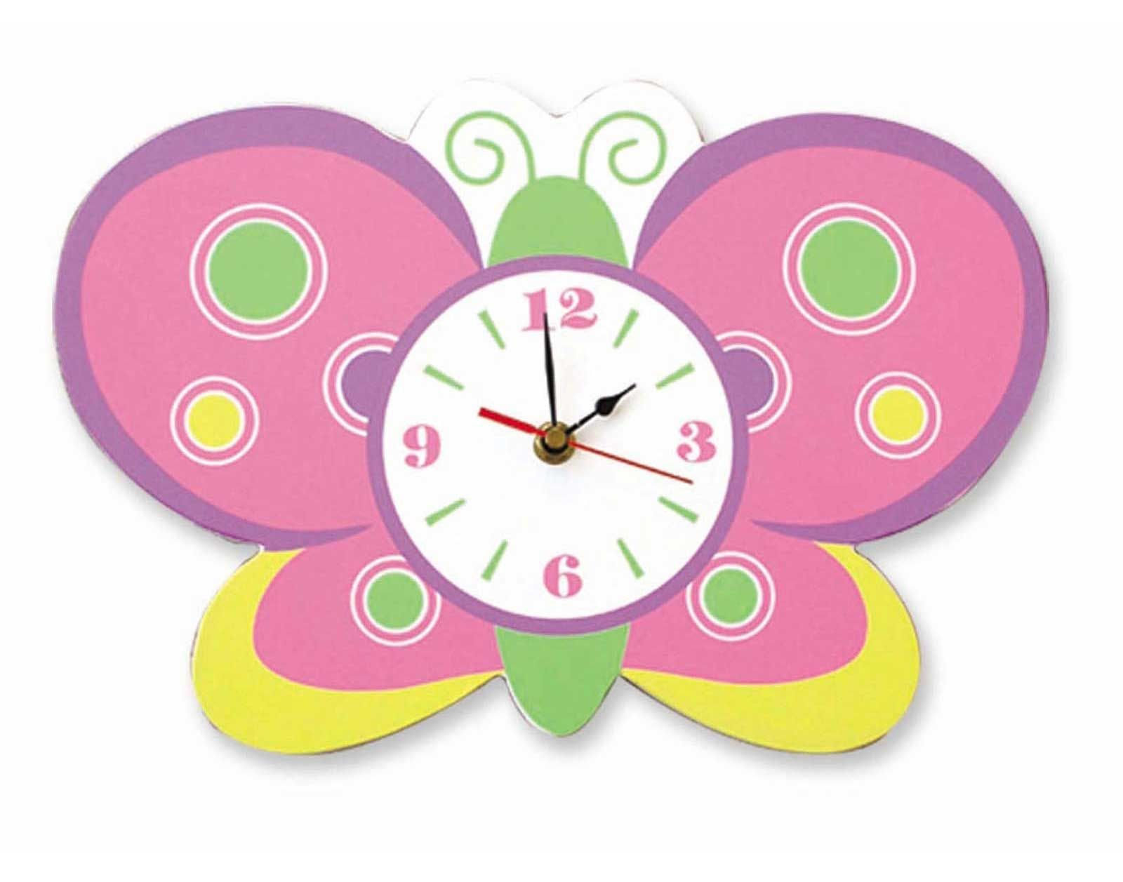 handmade wall clocks designs for kids