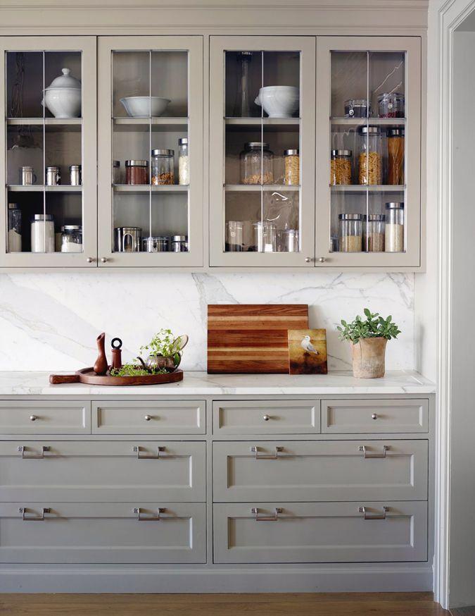 Cabinet color | Kitchen Cabinets | Pinterest
