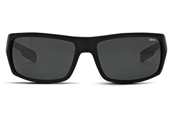 Zeal - Snapshot Matte Black / Ellume Dark Grey Sunglasses