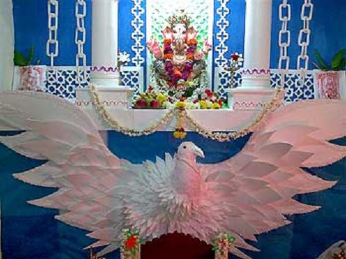 pin by vinayak on ganpati decoration pinterest decoration