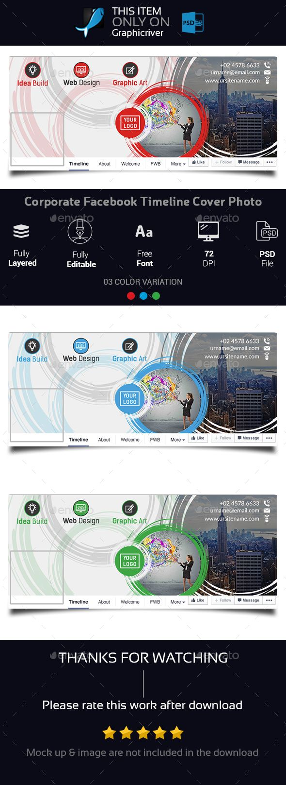 Corporate Facebook Cover Photo Design Template Psd Download Here