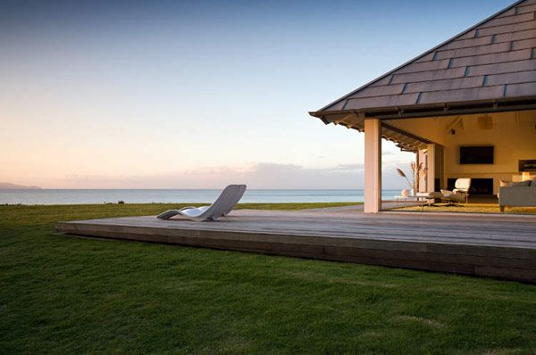 Modern Beach House Kuaotunu New Zealand Designed By Crosson Clarke Carnachan
