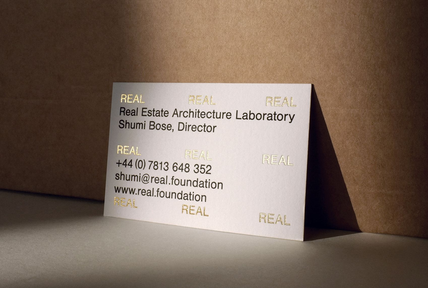 Visual Identity And Business Cards For Real By Ok Rm