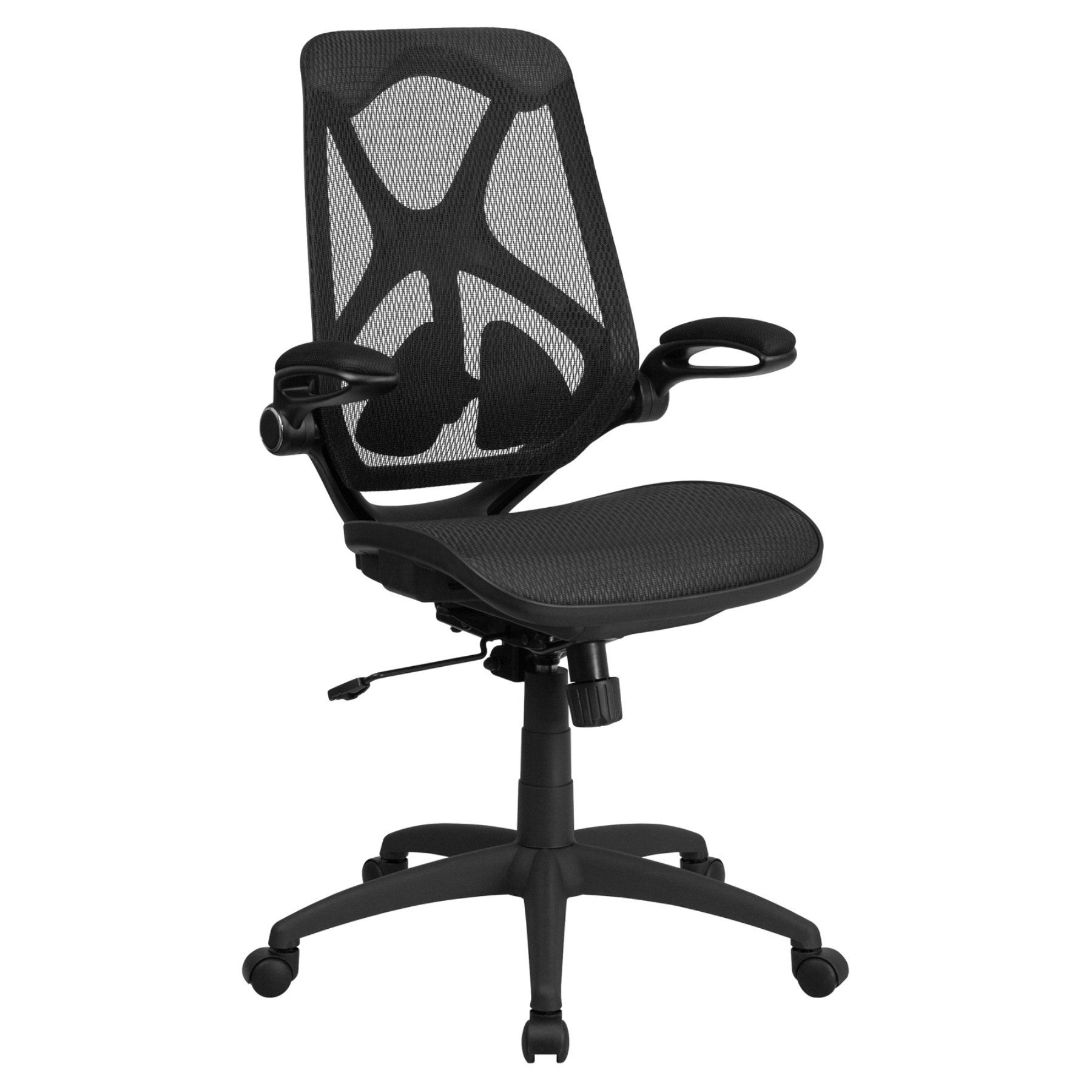 Flash furniture executive swivel office chair with mesh