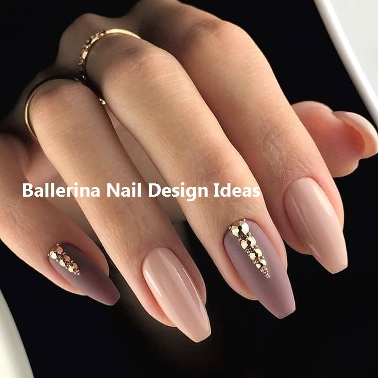 nail art for summer #funkynaildesigns | Ballerina nails
