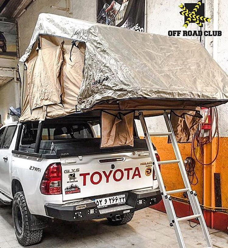 Middle Eastern Hilux Revo Rooftop Tent Setup & Middle Eastern Hilux Revo Rooftop Tent Setup | Overland.. Over ...