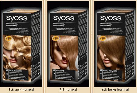 2012 Syoss Sac Boyasi Renkleri Katalogu Syoss Sac Boyasi Fiyati
