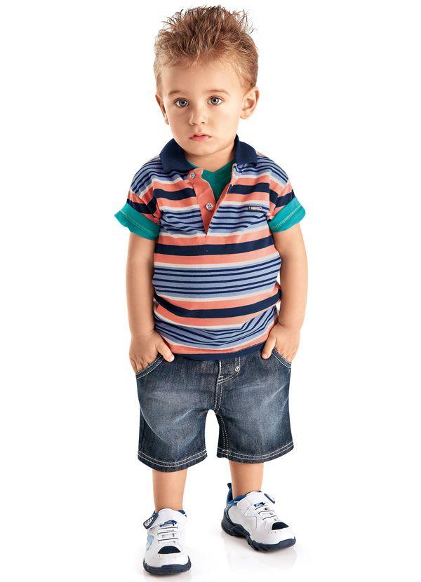 Camisa Polo Azul Tigor T.Tigre  bfb97cd790258