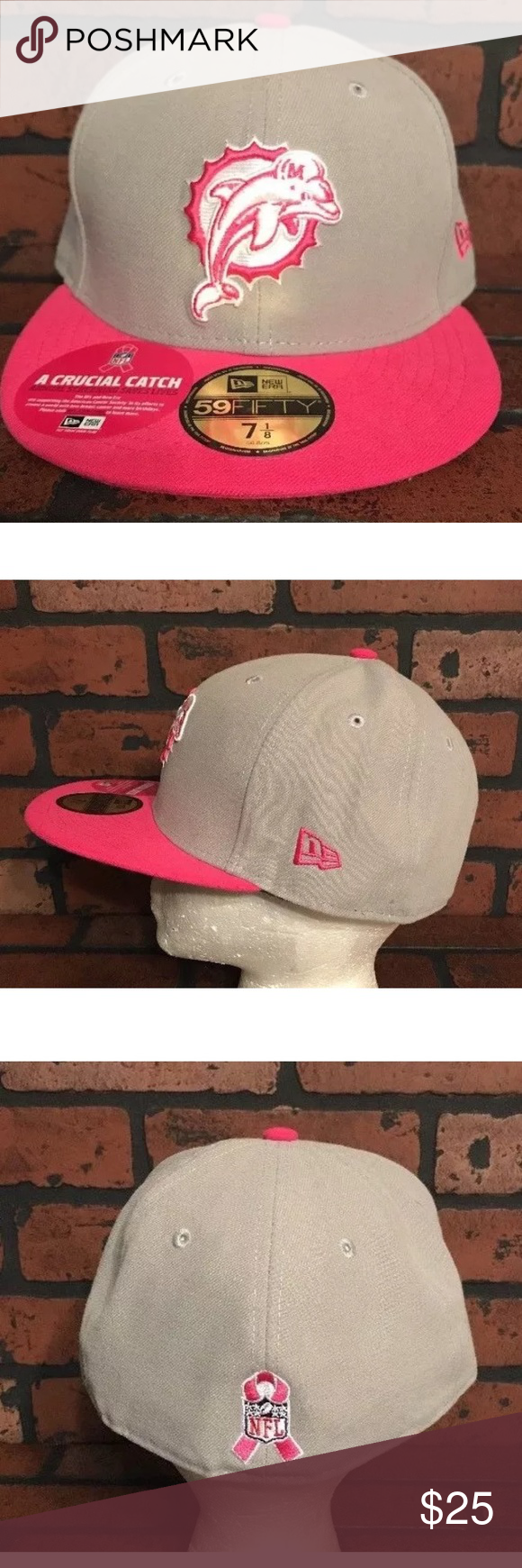 cheap for discount 16e76 d1336 cheapest miami dolphins breast cancer hat 7744c ab4b1