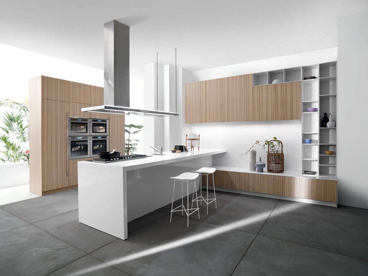 25 White And Wood Kitchen Ideas White Modern Kitchen Modern