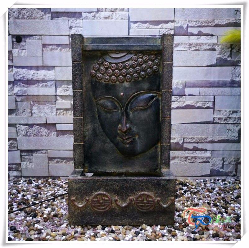 Indian God Indoor Water Fountain Wall Buddha Fountain Indoor
