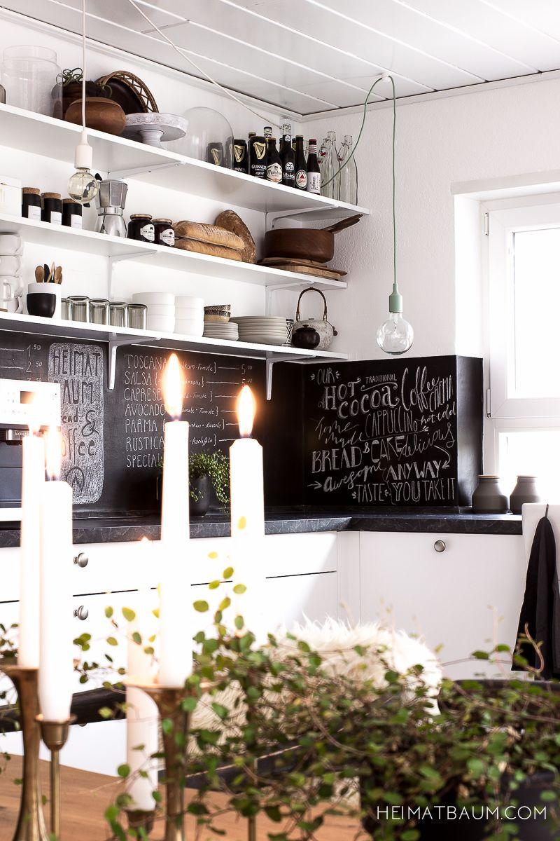 k che schwarz und wei home kitchen dining pinterest k che schwarz kuchen und k chen ideen. Black Bedroom Furniture Sets. Home Design Ideas