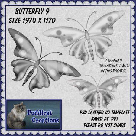 Butterfly 9 CU Template