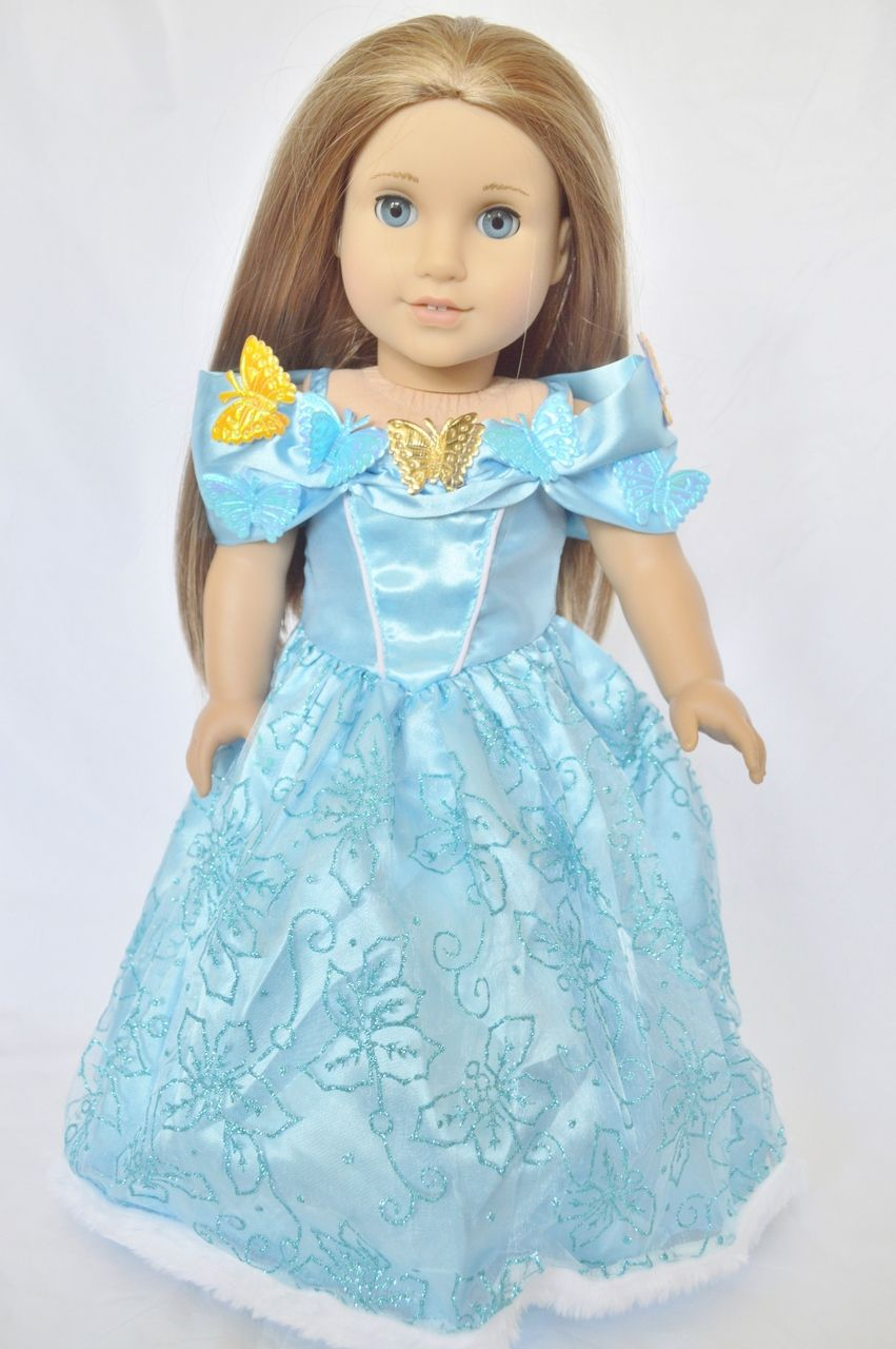 Dress up of cinderella - My Brittany S Is A Wholesale Dealer And Manufacture Of 18 Inch American Girl Doll Clothes And Costumes We Have Clothing Which Fits And 22 Inch American Girl