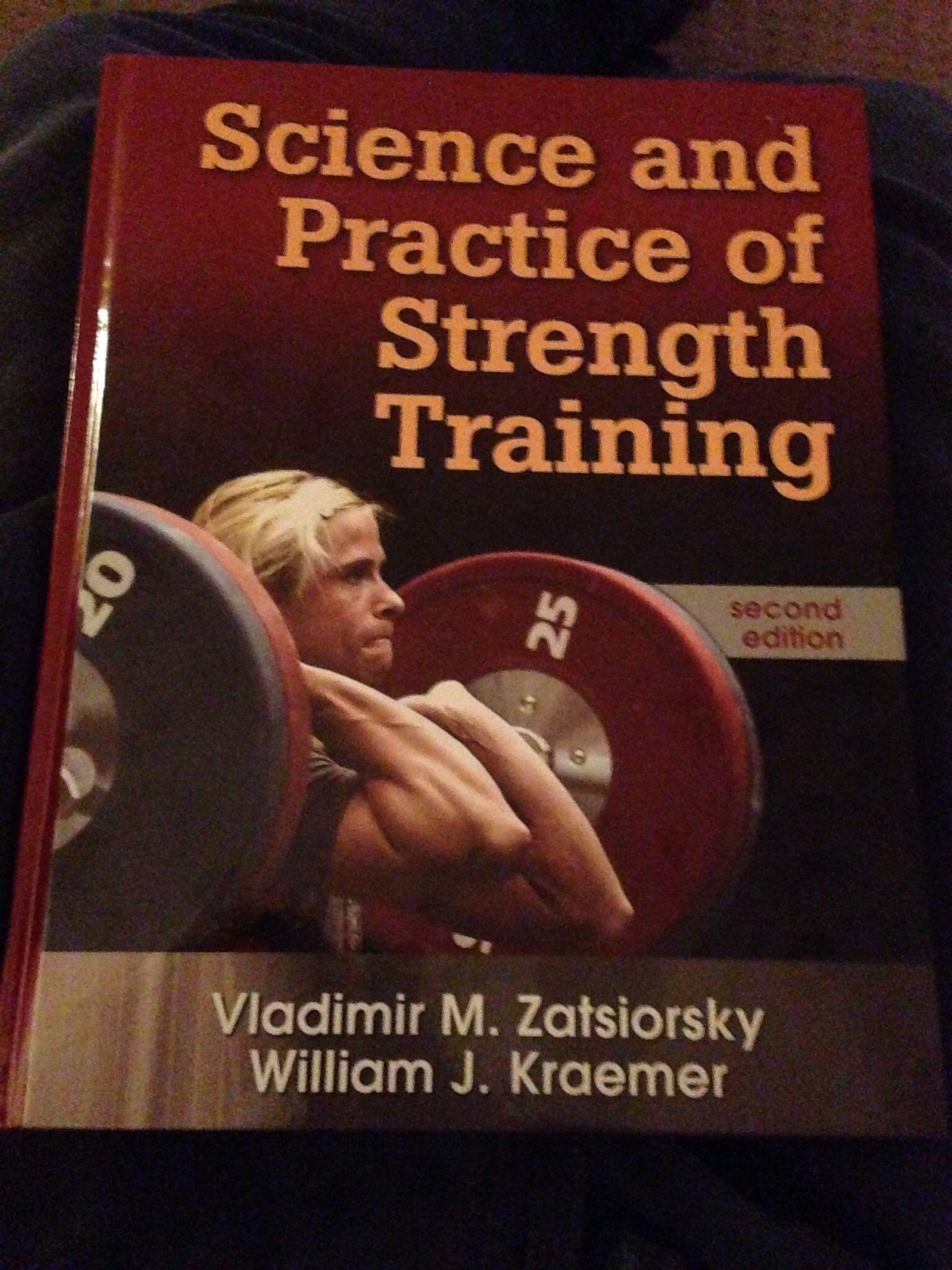 Zatsiorsky Books, Strength training, Reading